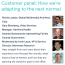Pexip Customer Panel: How we're adapting to the next normal.